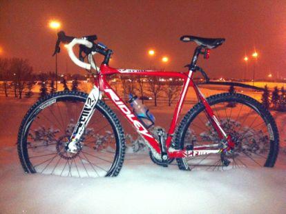 Snow Bike!